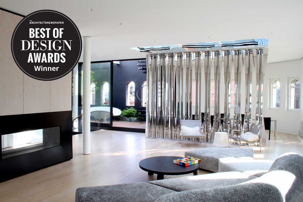 23 December 2015 The Gerken Residence Has Won Best Of Design Award In Interior Residential Category From Architects Newspaper