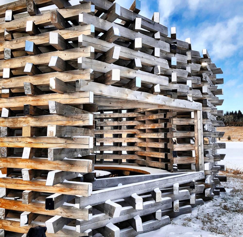 Carraig Ridge Fireplace (2014)   Alberta, Canada