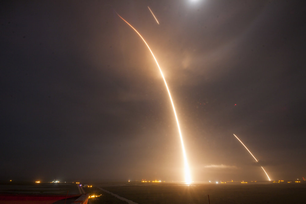 Spx9 Launch and Landing