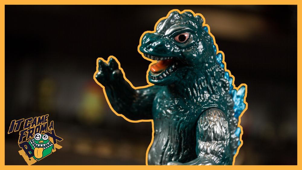 Godzilla Bullmark Sofubi - Toy Wars Exclusive Unboxing and Overview