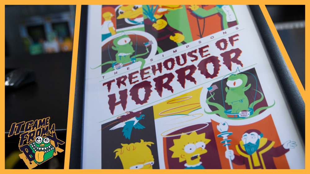 Treehouse of Horror 2 Print by Dave Perillo Unboxing and Overview