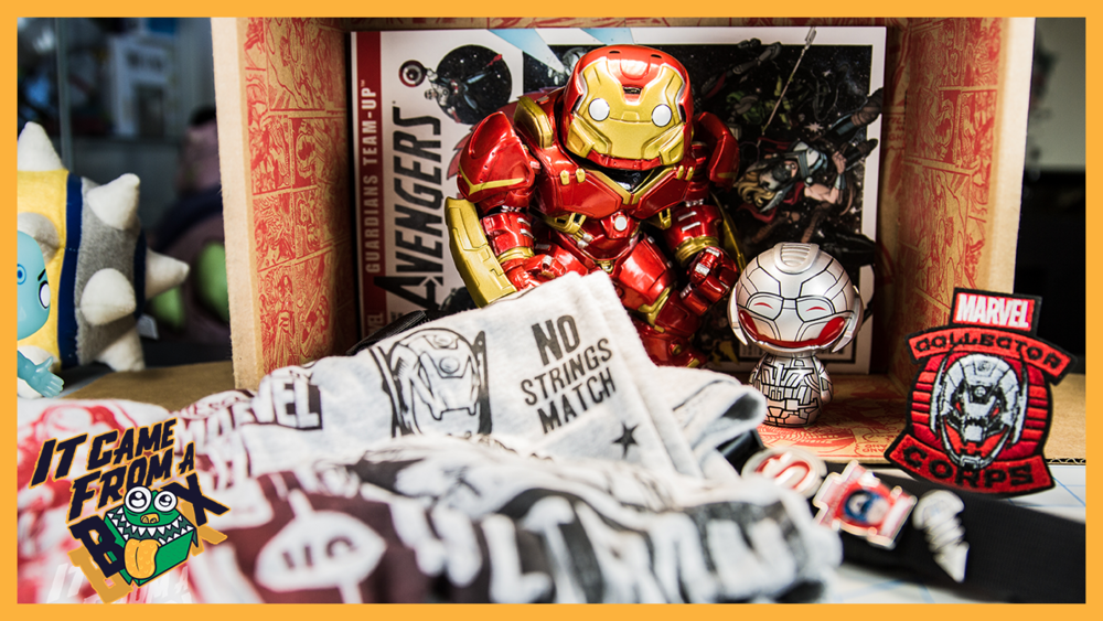 Marvel Collector Corps - Avengers - April 2015 - Unboxing and Overview