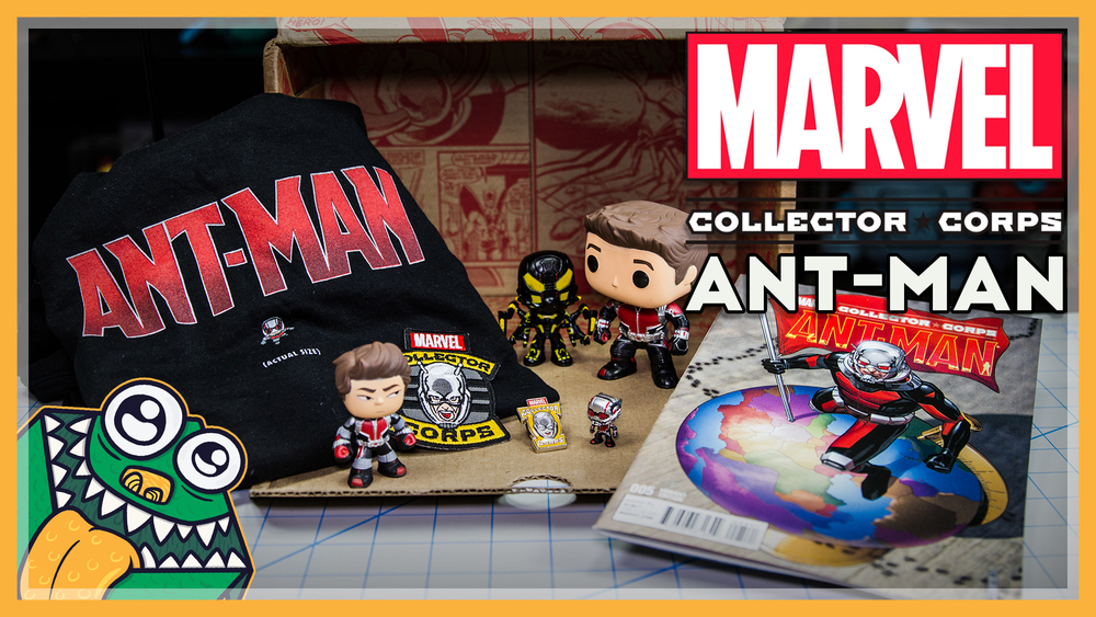 Marvel Collector Corps - Ant-Man - June 2015 - Unboxing and Overview