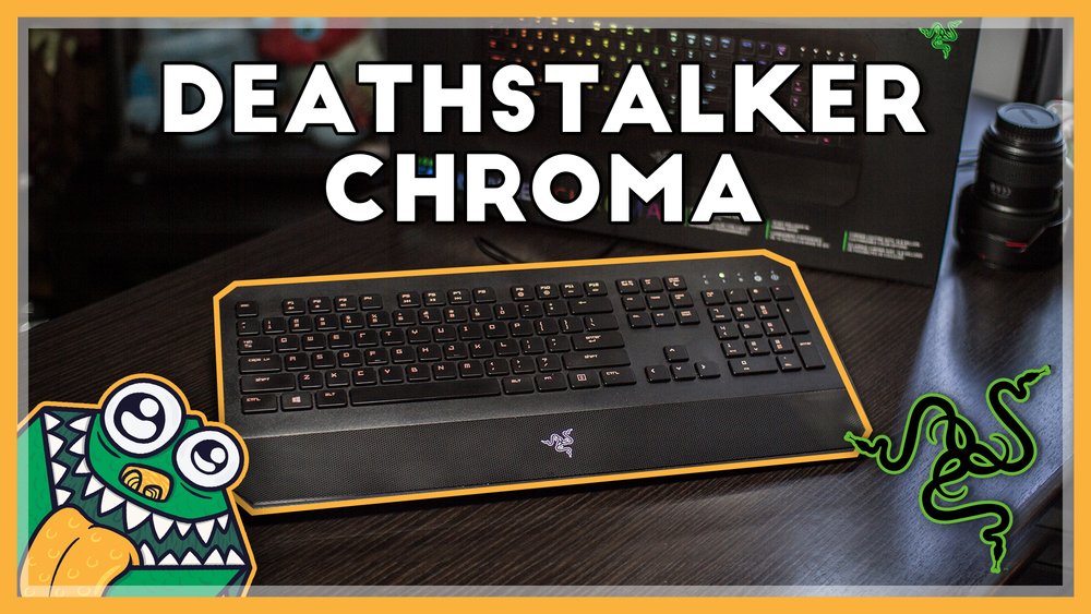 Razer DeathStalker Chroma - Review and Unboxing