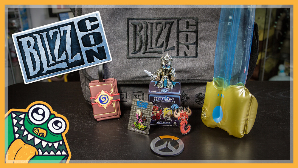 BlizzCon 2015 Goody Bag - Unboxing and Overview