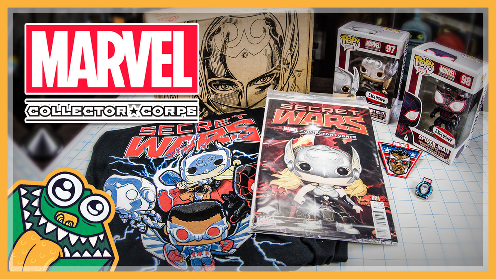 Marvel Collector Corps - Secret Wars - August 2015 - Unboxing and Overview