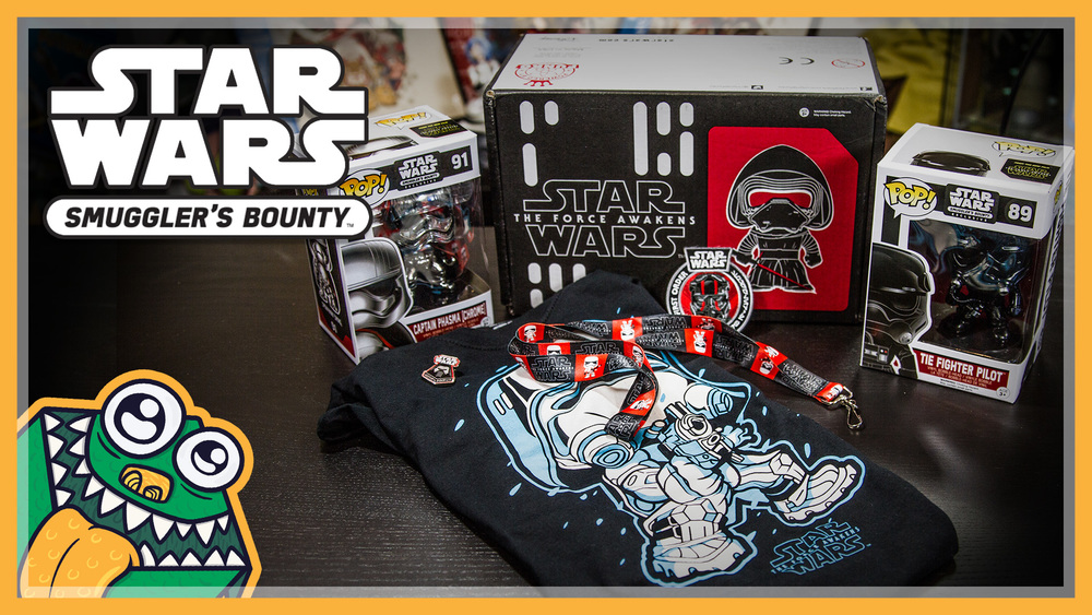 Star Wars Smuggler's Bountry - The First Order - November 2015 - Unboxing and Overview
