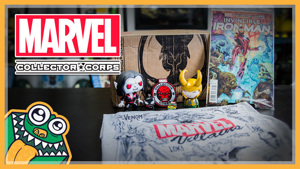 Marvel Collector Corps - Villains - October 2015 - Unboxing and Overview