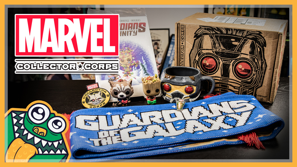 Marvel Collector Corps - Guardians of the Galaxy - December 2015 - Unboxing and Overview