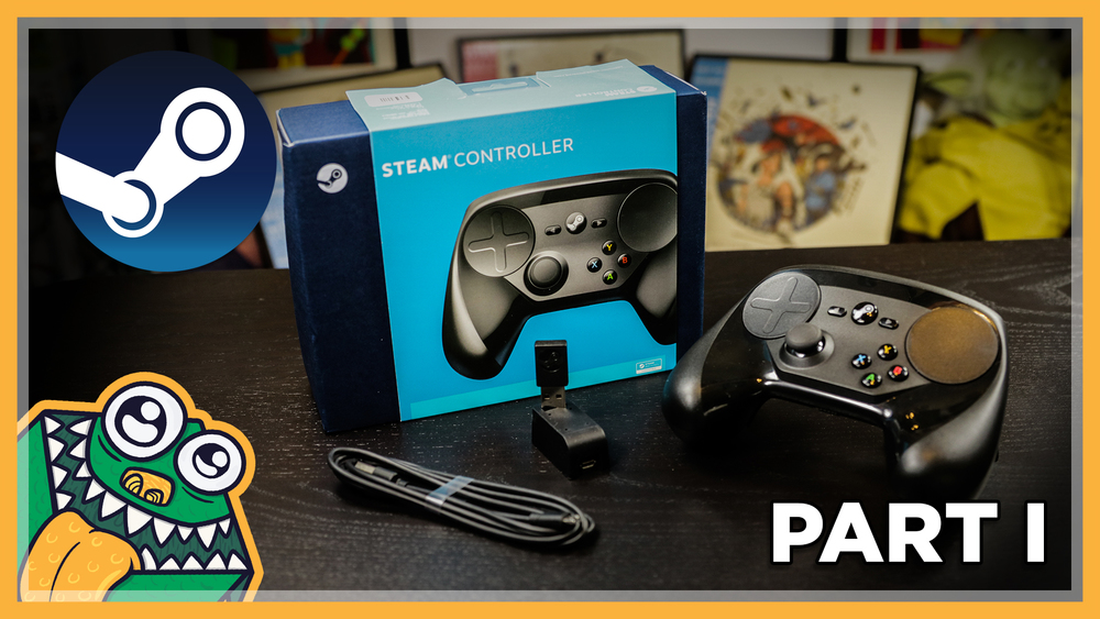 Steam Controller Review - Part I: Hardware