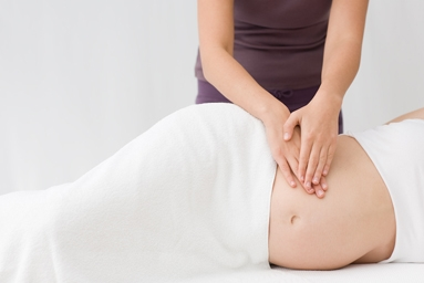 pregnancy massage physio
