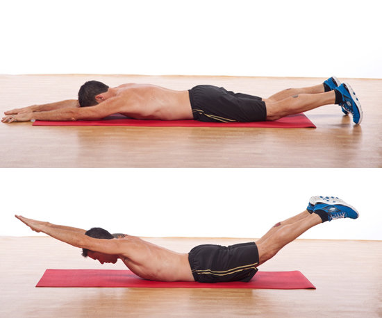 Superman Exercise For Low Back Pain Terrace Physio Plus