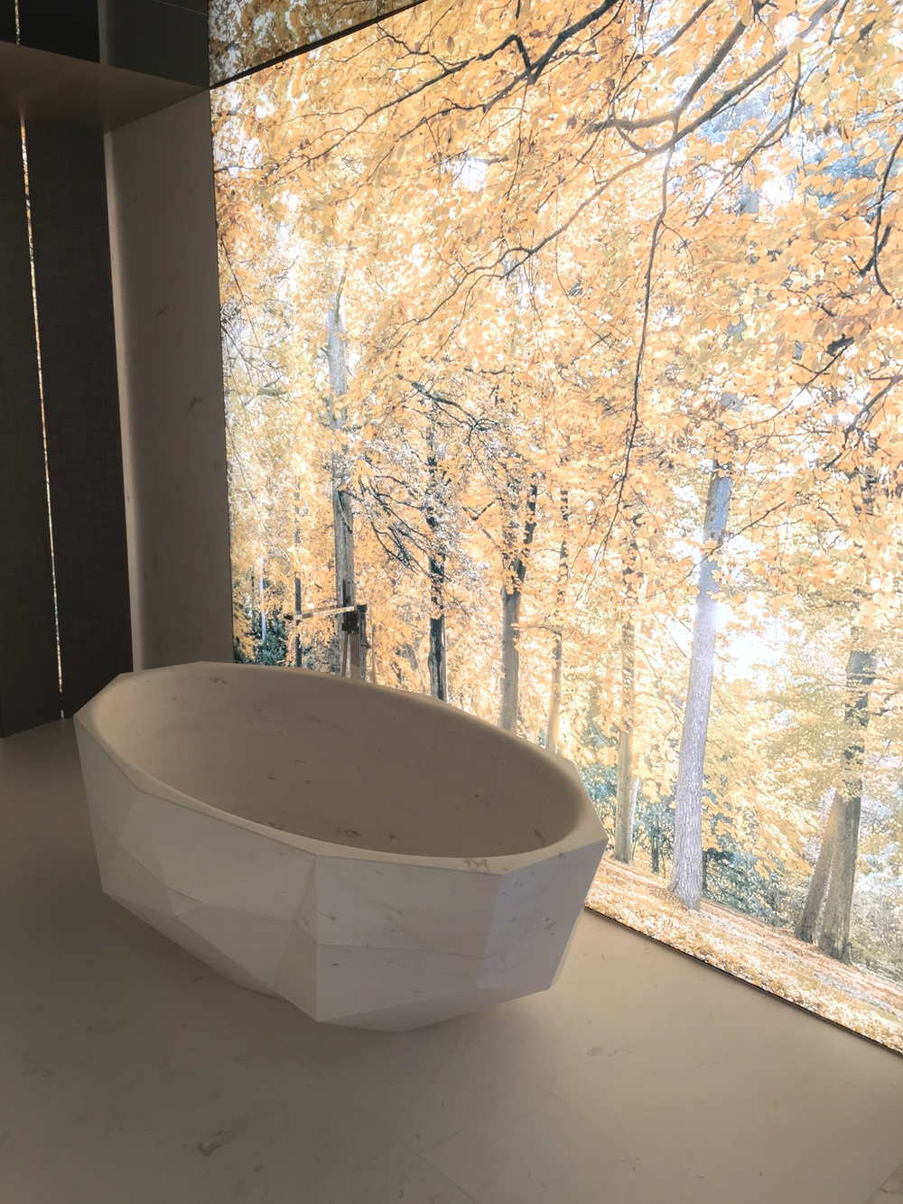 Lifestyle setting- check out the bath