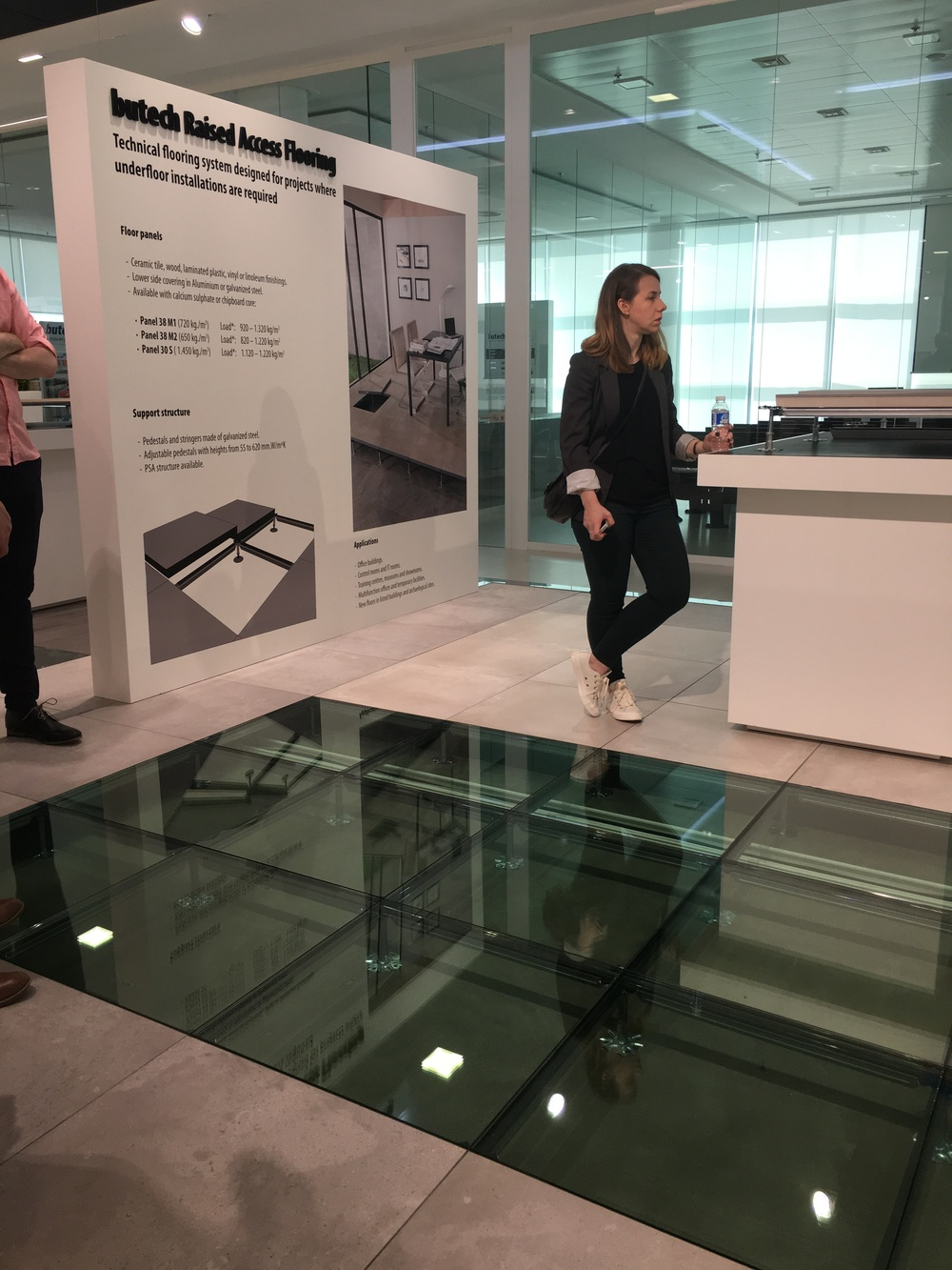 My new pal, architect Rachel Moore asks questions about raised access flooring