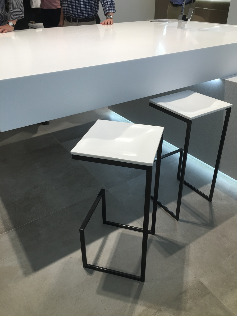 Krion stool tops
