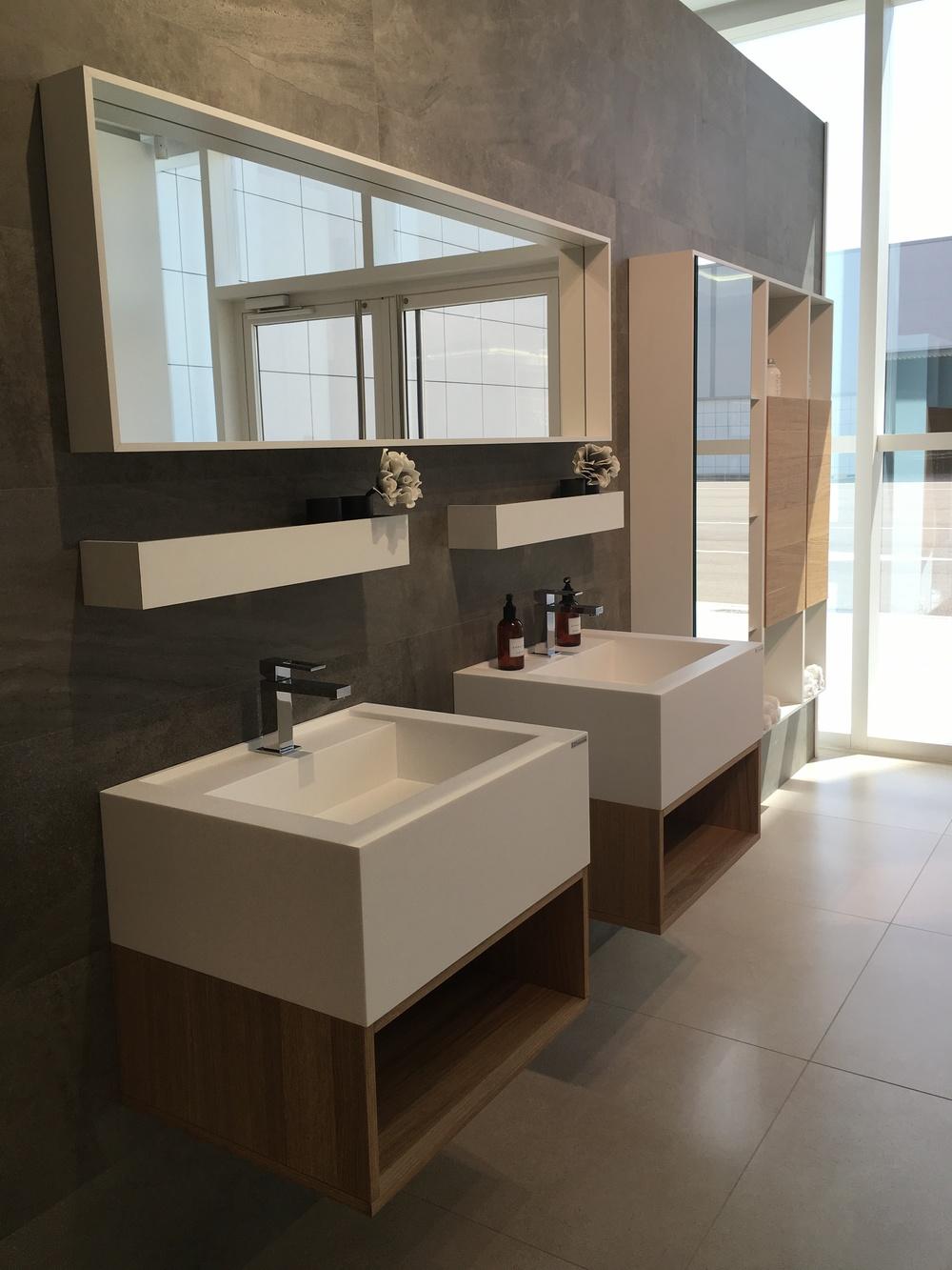Timeless bathroom furniture