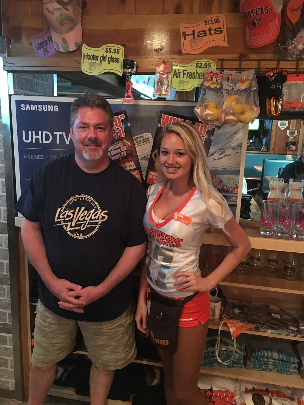 Shane - Winner at Hooters of Cape Coral