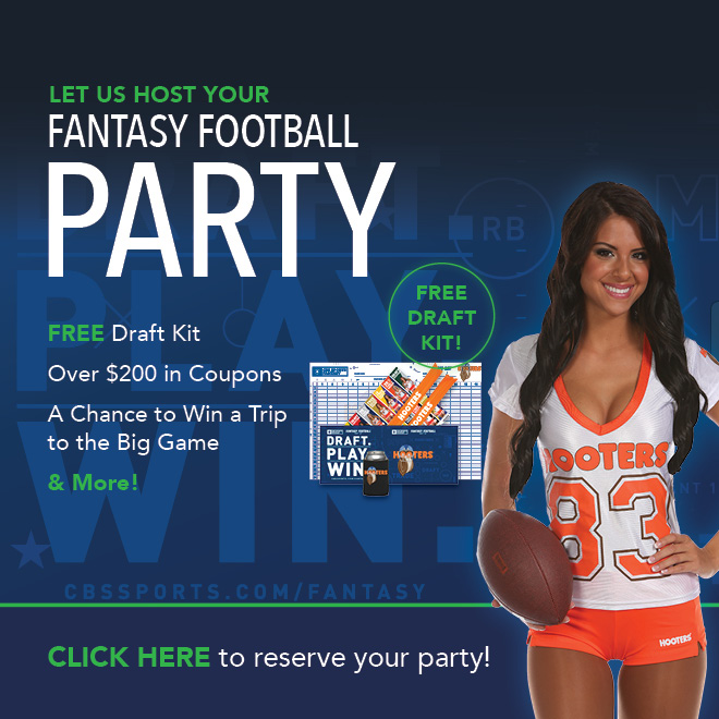 Have Your Fantasy Draft at Hooters!