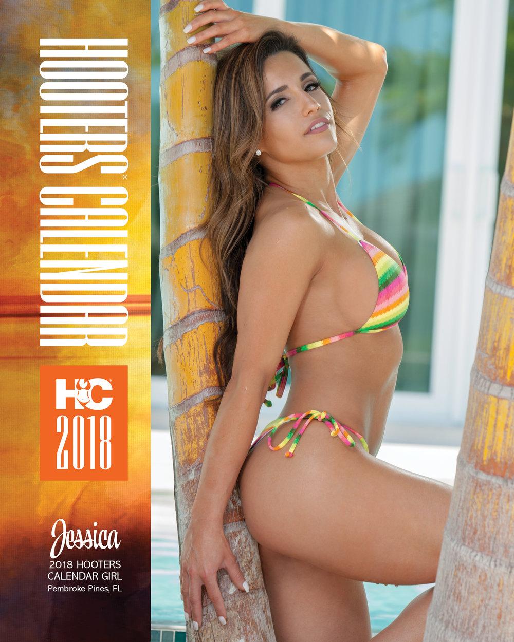 hooters calendar november 2018