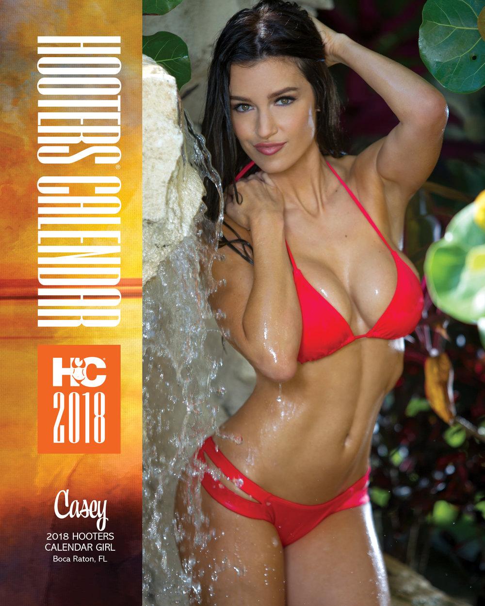 Casey_Hooters Calendar