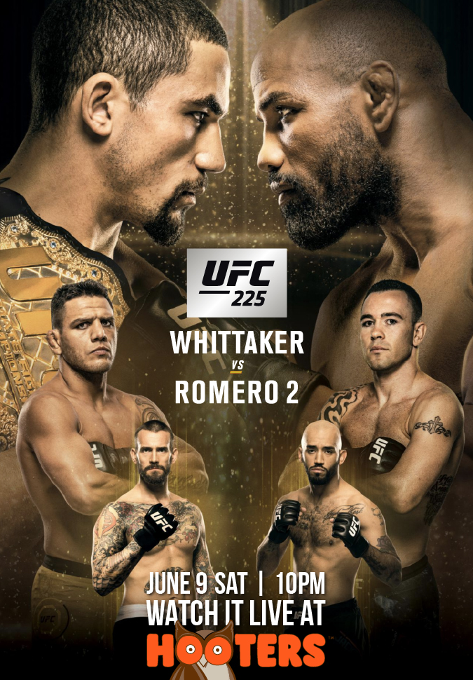 UFC 225 at Hooters