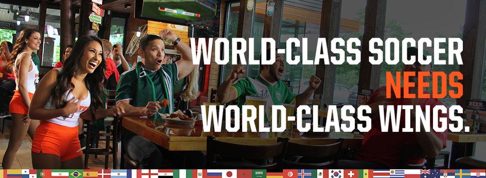 World-Class Soccer Needs World-Class Wings
