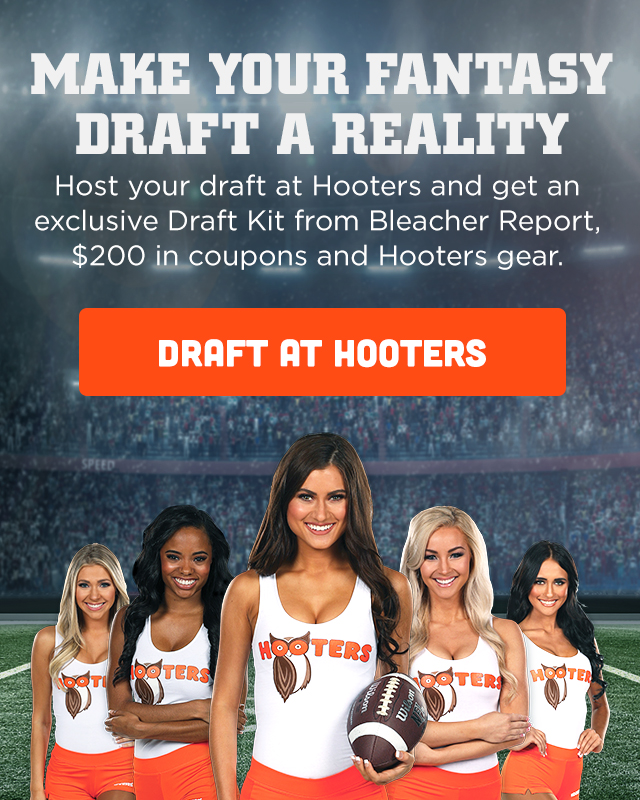 Book your fantasy draft party at Hooters!