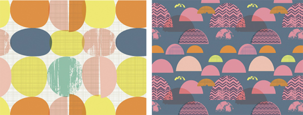 Designer Leah Greenberg viaPrint & Pattern
