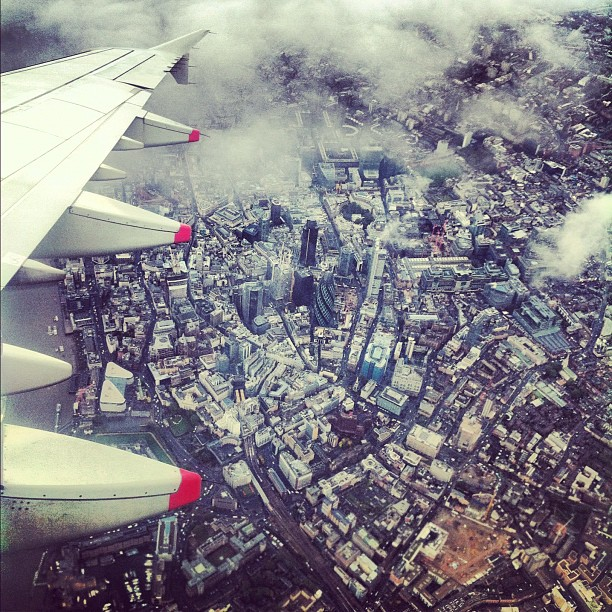 A wee aerial view of London!