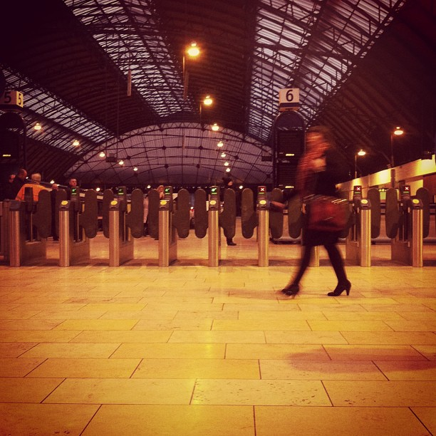 Commuter! (at Glasgow Queen Street Railway Station (GLQ))