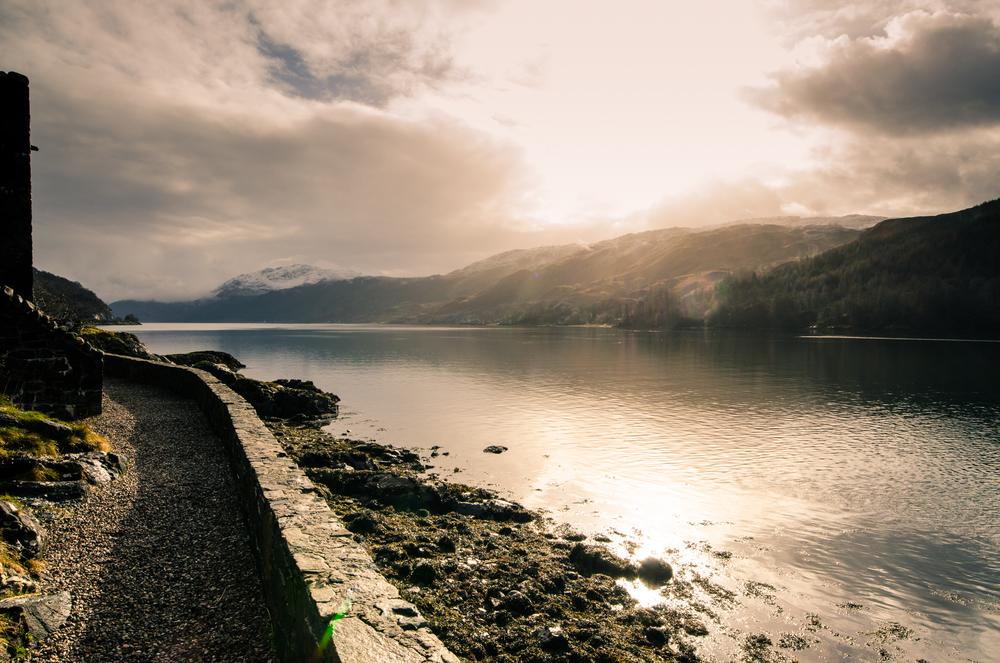 Loch Duich fromEilean Donan Castle