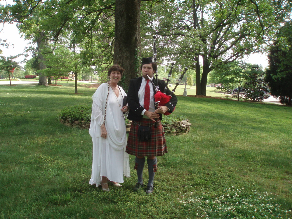 Celtic Wedding with Bagpiper
