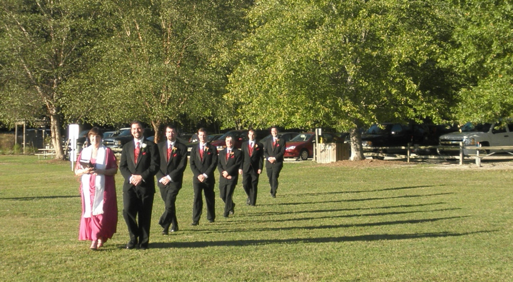 Groom's processional......