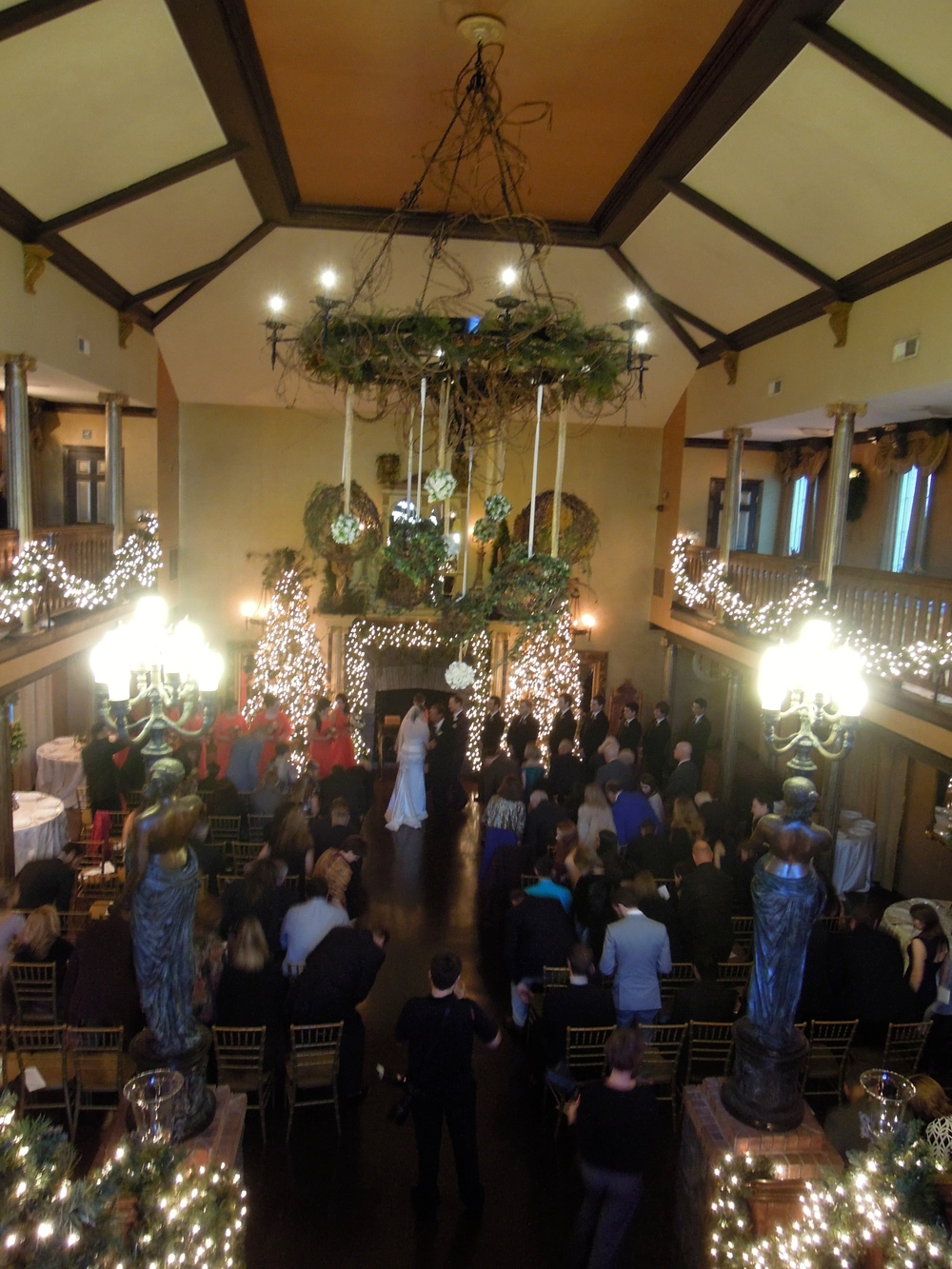 Winter Wedding at Barclay Villa in Angier NC