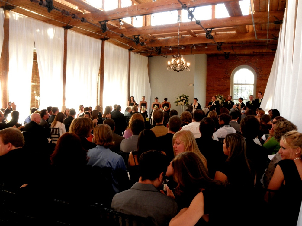 Formal wedding at The Cotton Room in Durham