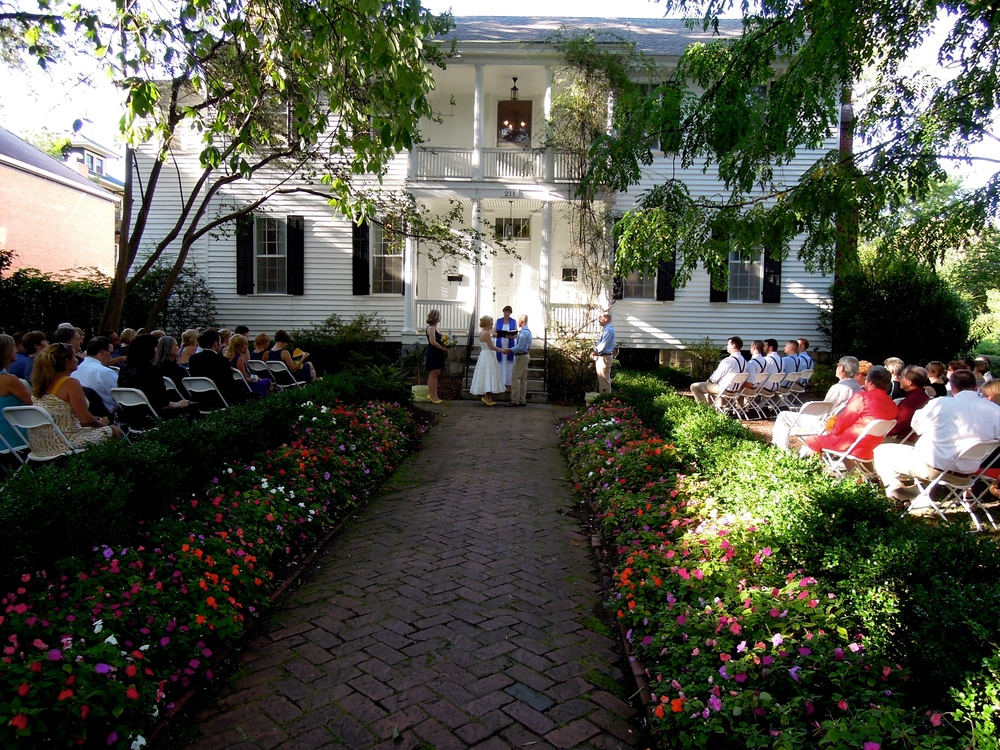 Another lovely wedding at Haywood Hall in Raleigh
