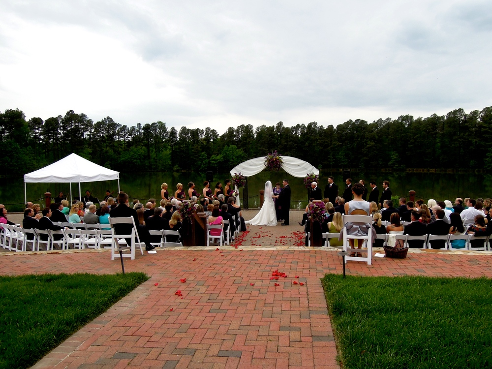 Wedding at the Pavilion at Angus Barn in Raleigh