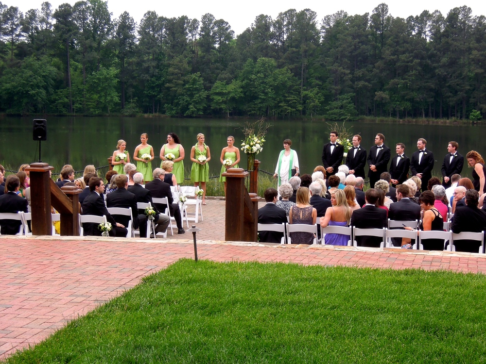 Another fabulous wedding at The Pavilions at Angus Barn in Raleigh