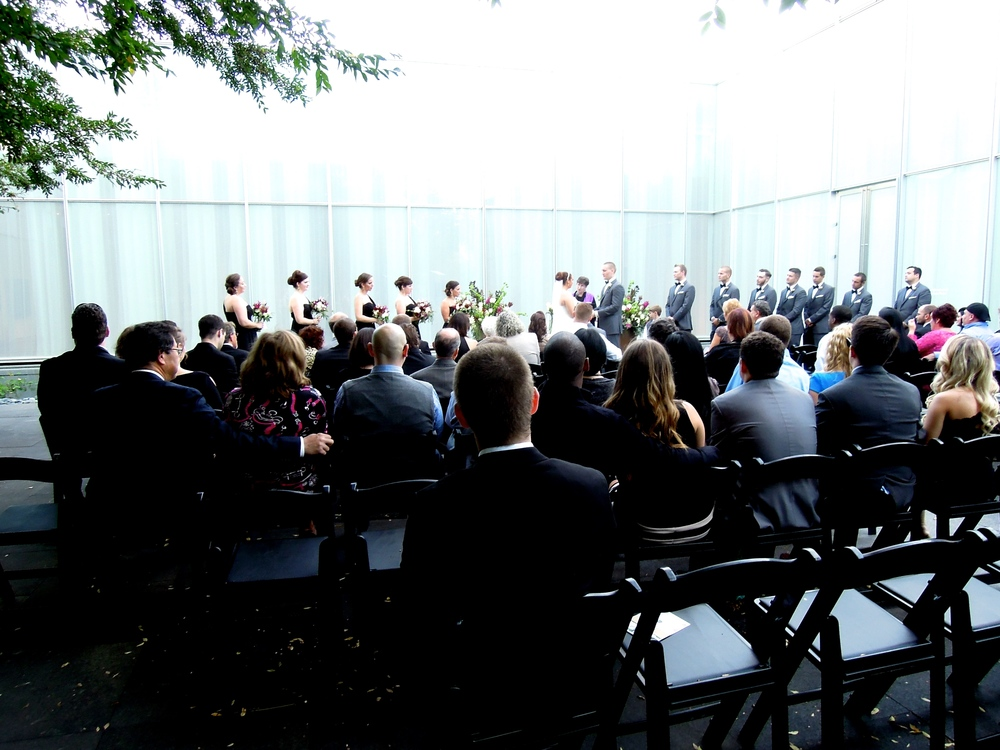 Stunning wedding at The North Carolina Museum of Art in Raleigh