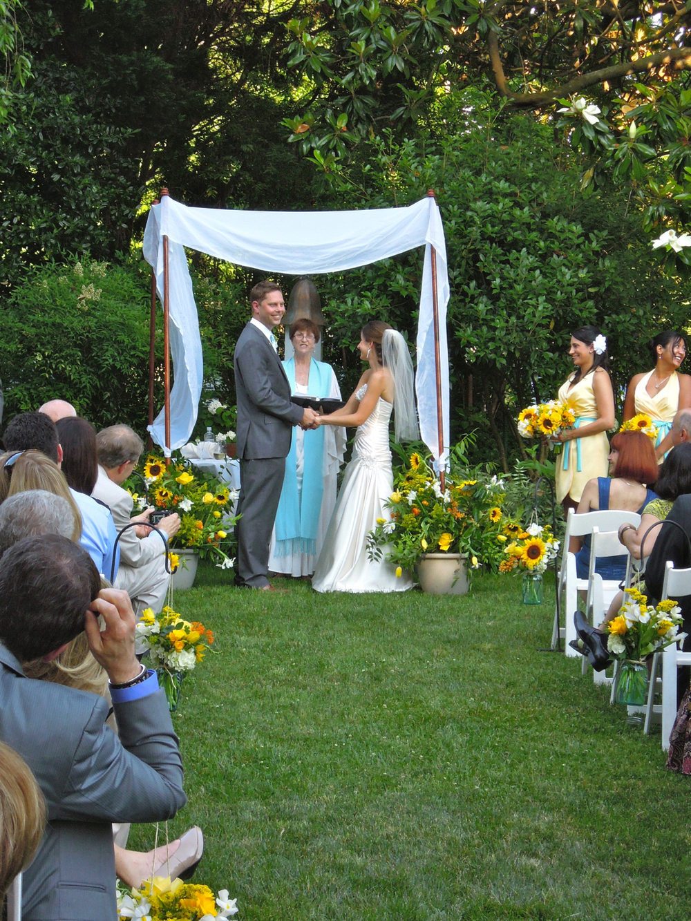Jewish Christian Wedding at Fearrington
