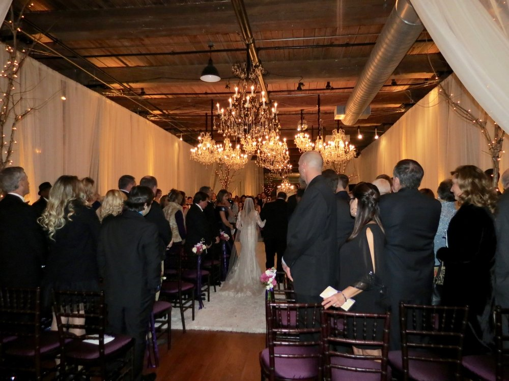 New Year's Eve 2016 wedding at The Cloth Mill on the Eno in Hillsborough NC