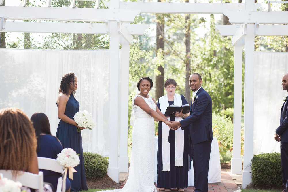 Wedding photo by Story and Rhythm Photographers at Brier Creek CC