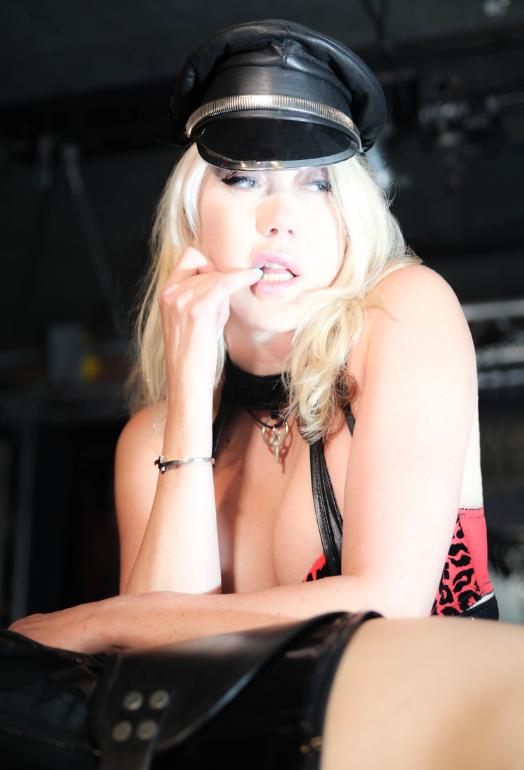 Dominatrix Hat & Slave
