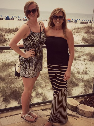 Chandler & I in Gulf Shores, Alabama