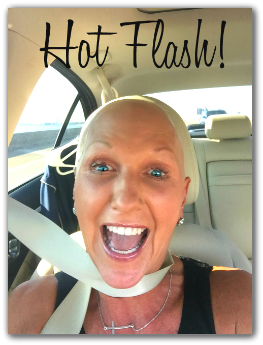 Yes, I really didi this! I was having a hot flash and got all tangled up while removing my jacket. Thank you chemo!