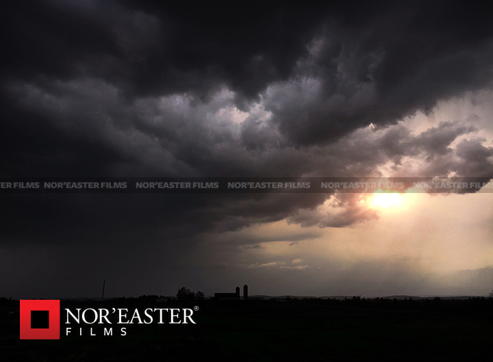 Sunset storm in Washington County, New York on May 14, 2016