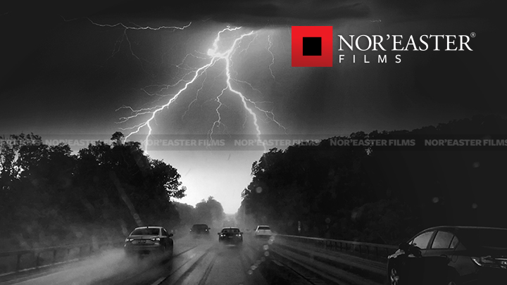 Lightning strike over the Adirondack Northway (I87) on Thursday, July 14, 2016