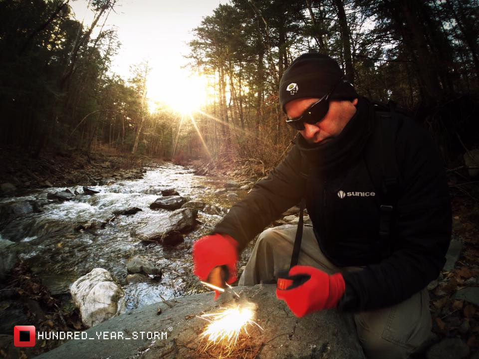 Besides navigation, the ability to start a fire is the most important skill anyone in the wildness can possess.