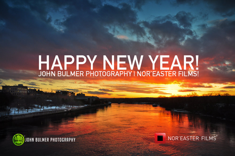 Happy New Year from John Bulmer Photography and Nor'easter Films! Thank you to all my clients, partners and friends for making 2017 a great year.