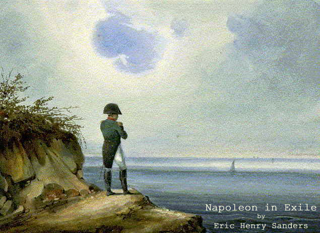 Napoleon in Exile Flyer
